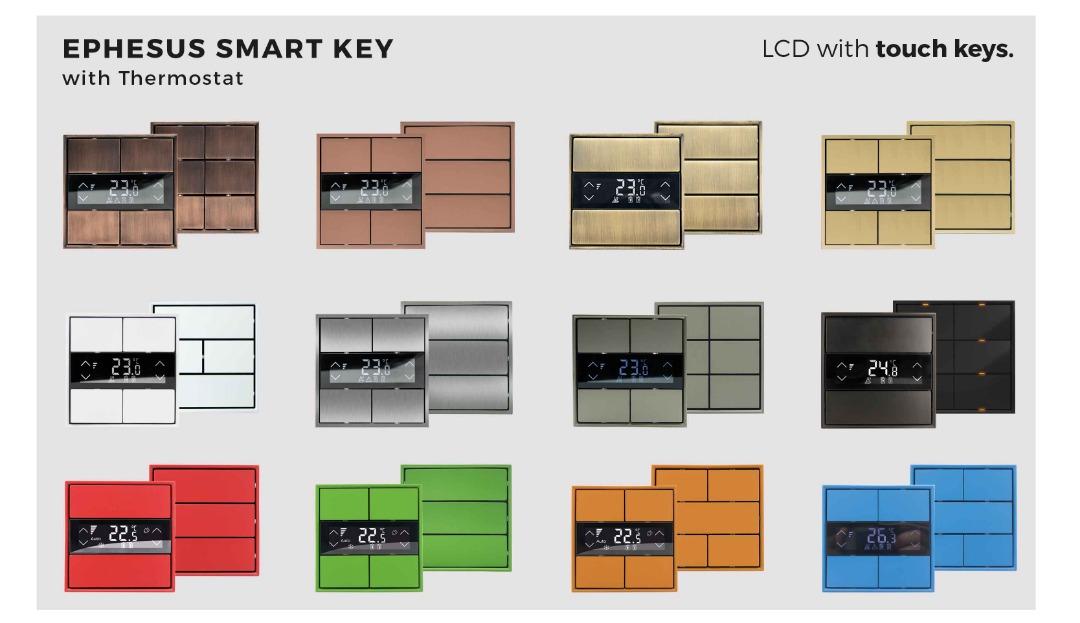 کلید های هوشمند لوکس تک